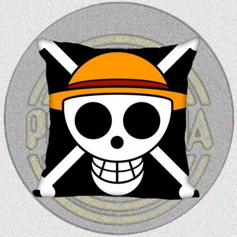 Cojín Piratas Sombrero de Paja - One Piece