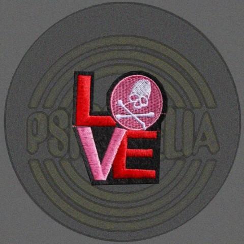 Parche Love Calavera