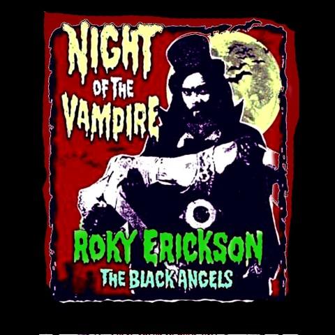Camiseta Rocky Erickson & The Black Angels