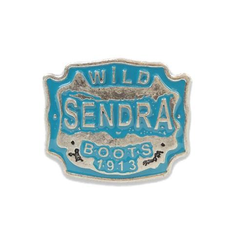 Hebilla Sendra 2947 Wild Plata Mate-Turquesa