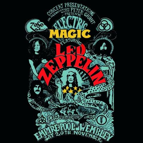 Camiseta Led Zeppelin Electric Magic