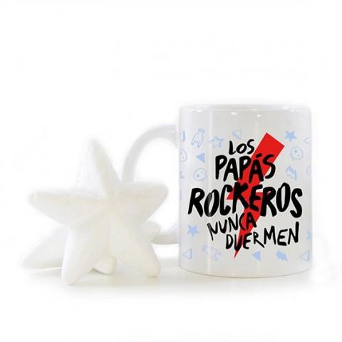 Taza Papás Rockeros