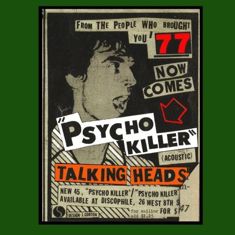 Camiseta Talking heads
