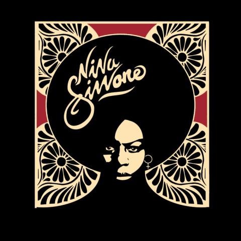 Camiseta Nina Simone Black Bird