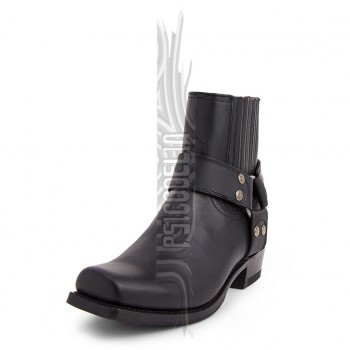 Botas Sendra 8286 Blues Pull Oil Negro