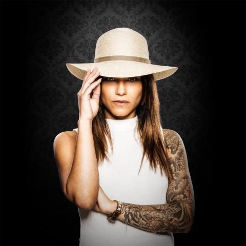 Sombrero de rafia Kalea