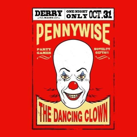 Camiseta Pennywise - It