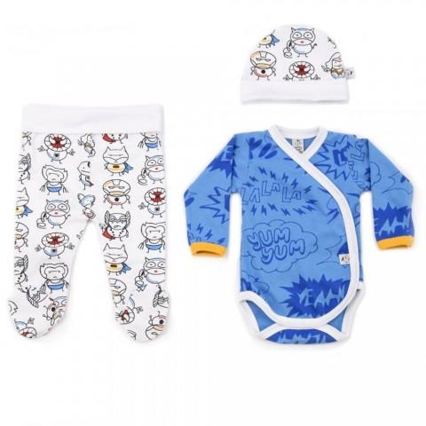 Conjunto de ropa para primera puesta de Superhéroes