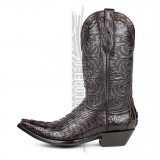 Botas Sendra Texas Caiman Tail Chocolate