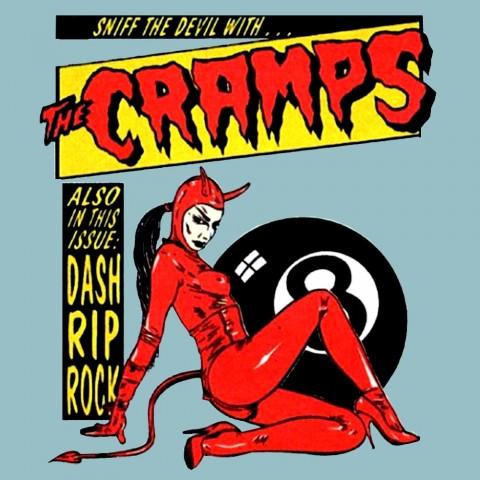 Camiseta Cramps Devil
