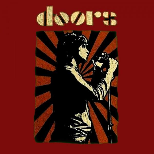 Camiseta The Doors Cartel